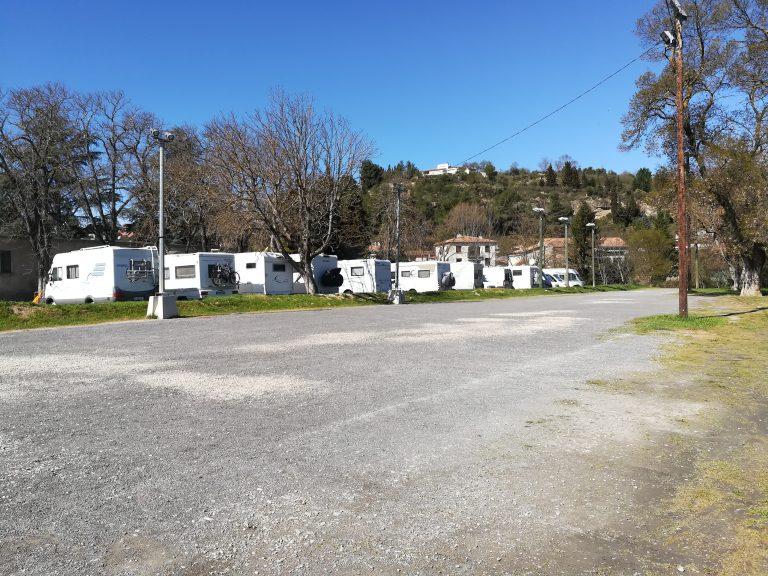 Aire de Camping-cars de Limoux