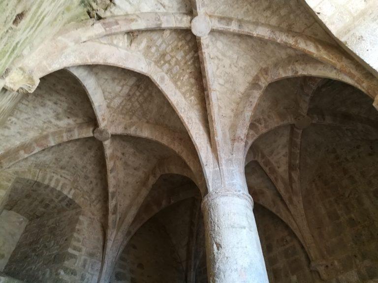 Intérieur du château de Quéribus