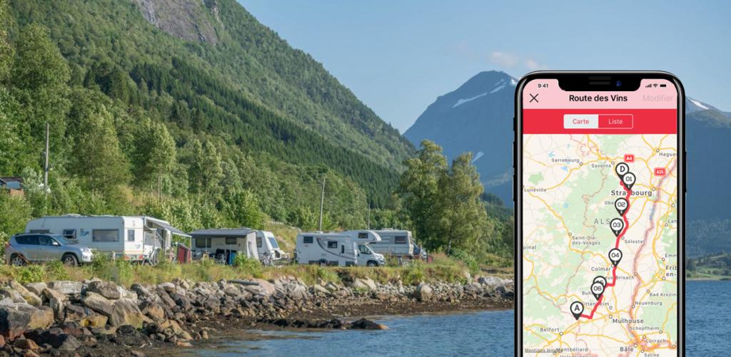 planifier son voyage en camping-car