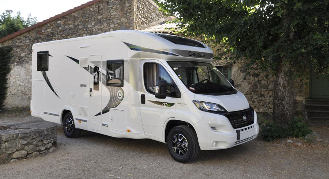 Camping-car Profilé Twin