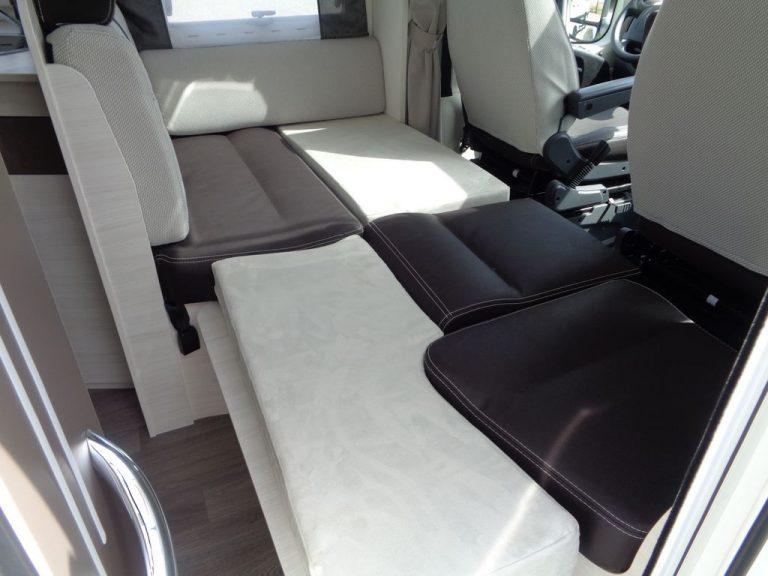 Lit dînette profilé confort et auto