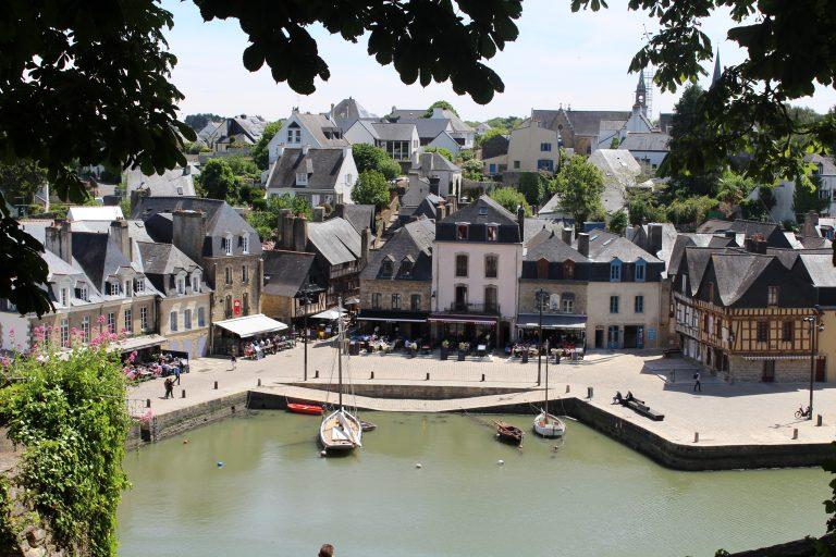 Auray, le port de Saint-Goustan