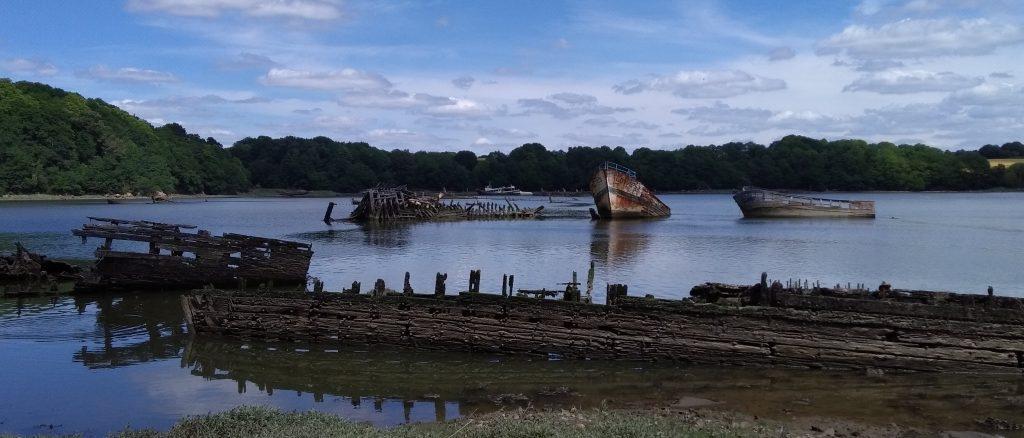 Cimetière de bateaux Kerhervy, Lanester