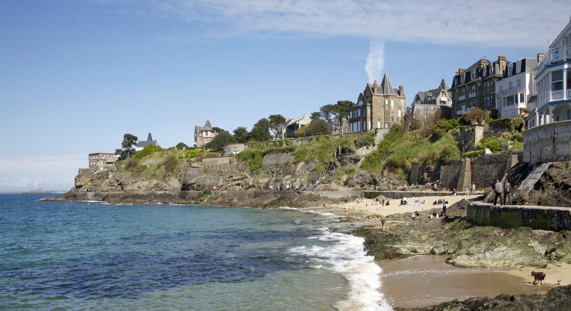 La côte de Dinard