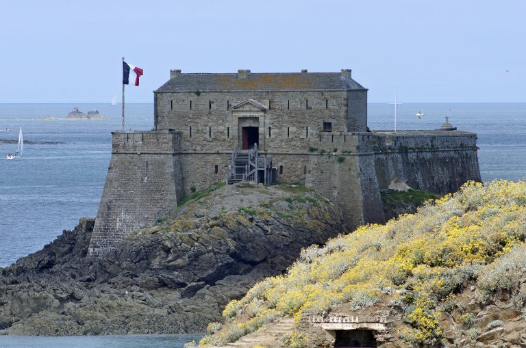 Le Fort National à Saint-Malo (Ille-et-Vilaine)