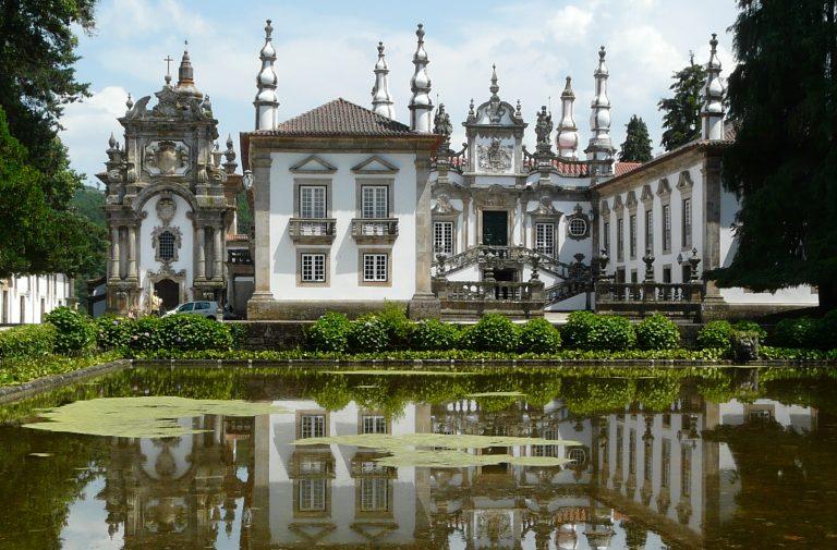 Palais de Mateus à Vila Real