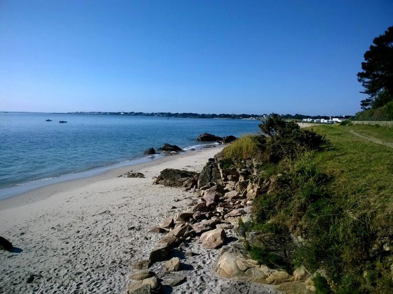 Morbihan Saint-Pierre de Quiberon, plage petit rohu