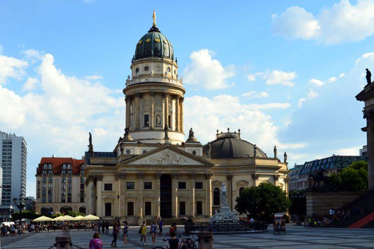 La cathédrale de l'Allemagne à Berlin