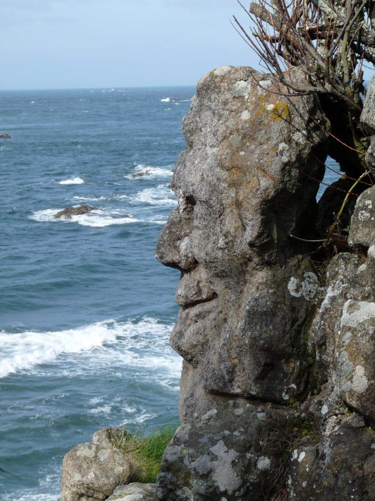 Rochers sculptés à Rothéneuf