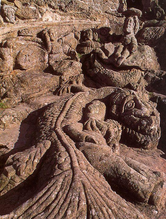 Rotheneuf et ses rochers sculptés