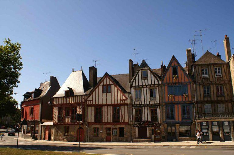 Vieux quartier port de Vannes