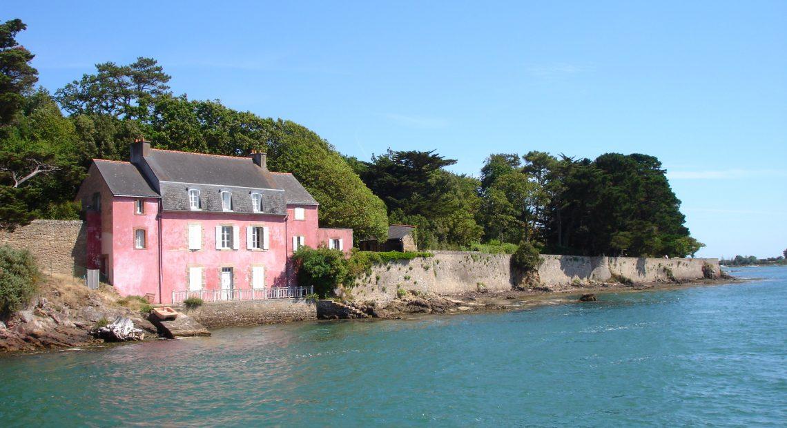 La maison rose, golfe du morbihan