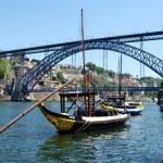 Porto, le pont Luis I et le Douro