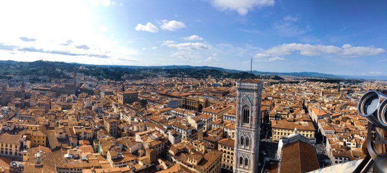 Florence vue du ciel