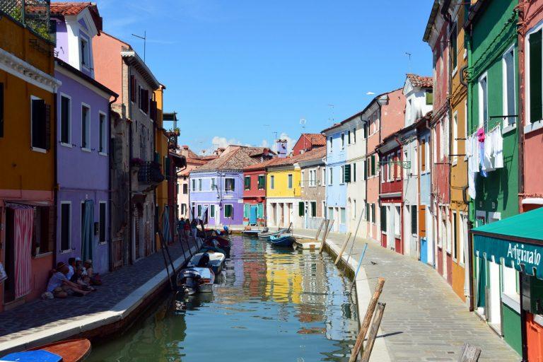 Quartier Burano à Venise