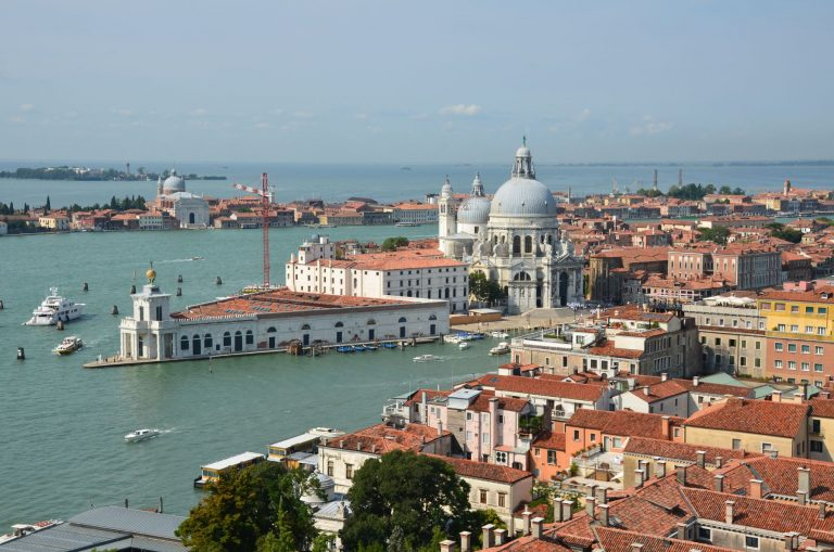 Venise vue du ciel