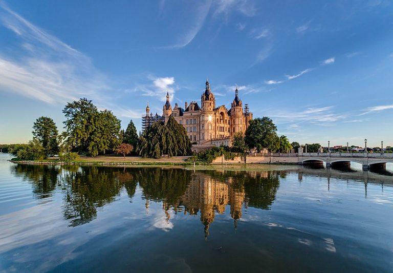 château en mecklembourg-poméranie