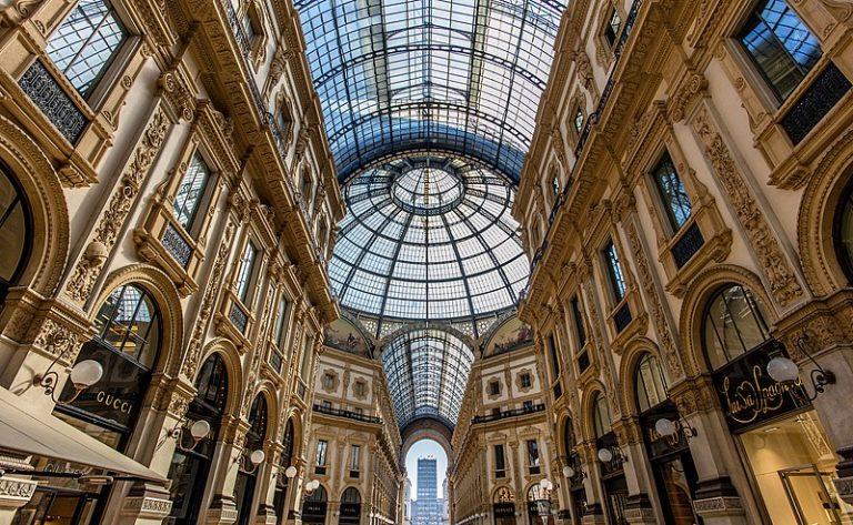 la galerie Vittorio Emanuele II de Milan