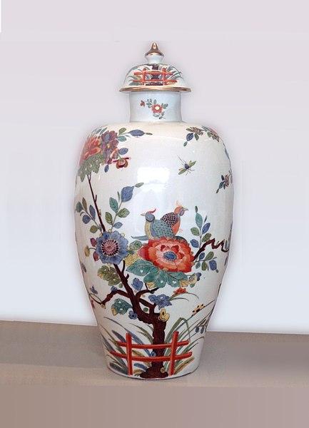 vase porcelaine de Meissen