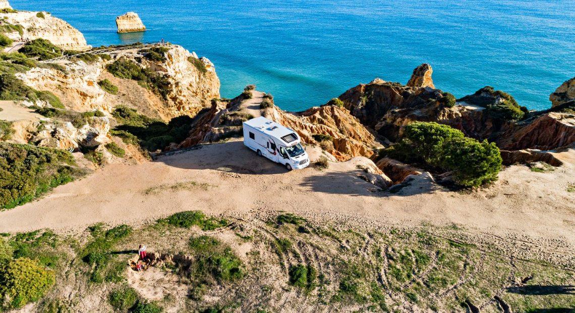Partir en camping-car en septembre, en Algarve