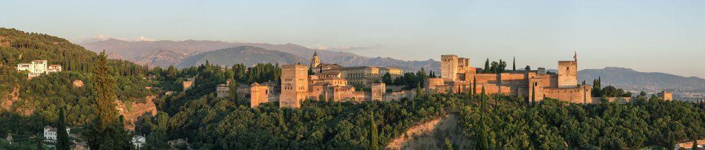 L'Espagne en camping-car : l'Alhambra de Grenade