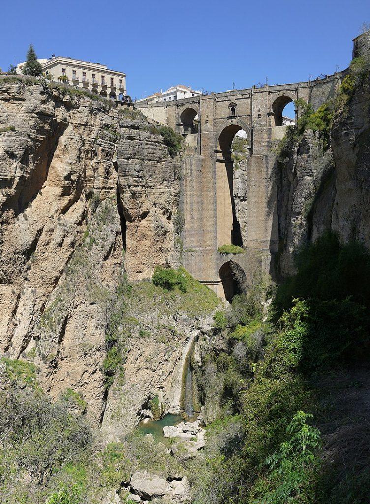 Ronda, le pont neuf et les gorges du Tajo