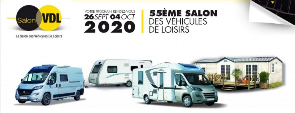 Salon des véhicules de loisirs du Bourget en France 2020