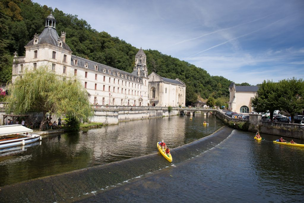 La Dordogne en camping car : Brantôme et son abbaye