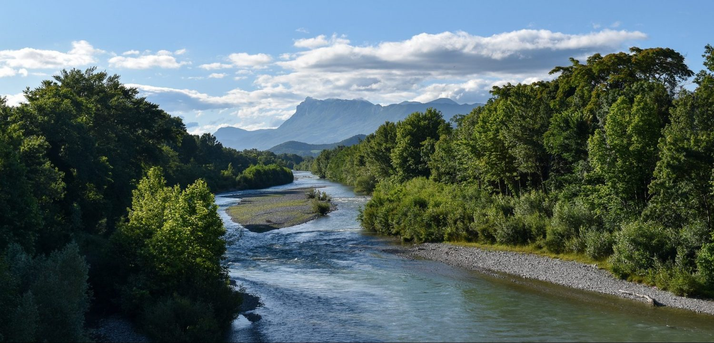 La rivière Drôme en camping-car