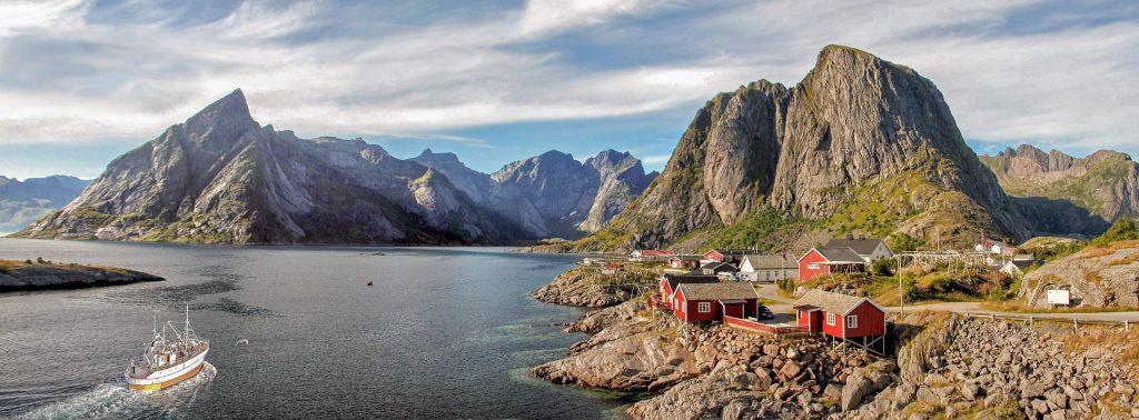 La Norvège en camping car - Lofoten