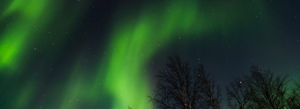 La Norvege en camping car - aurores boréales